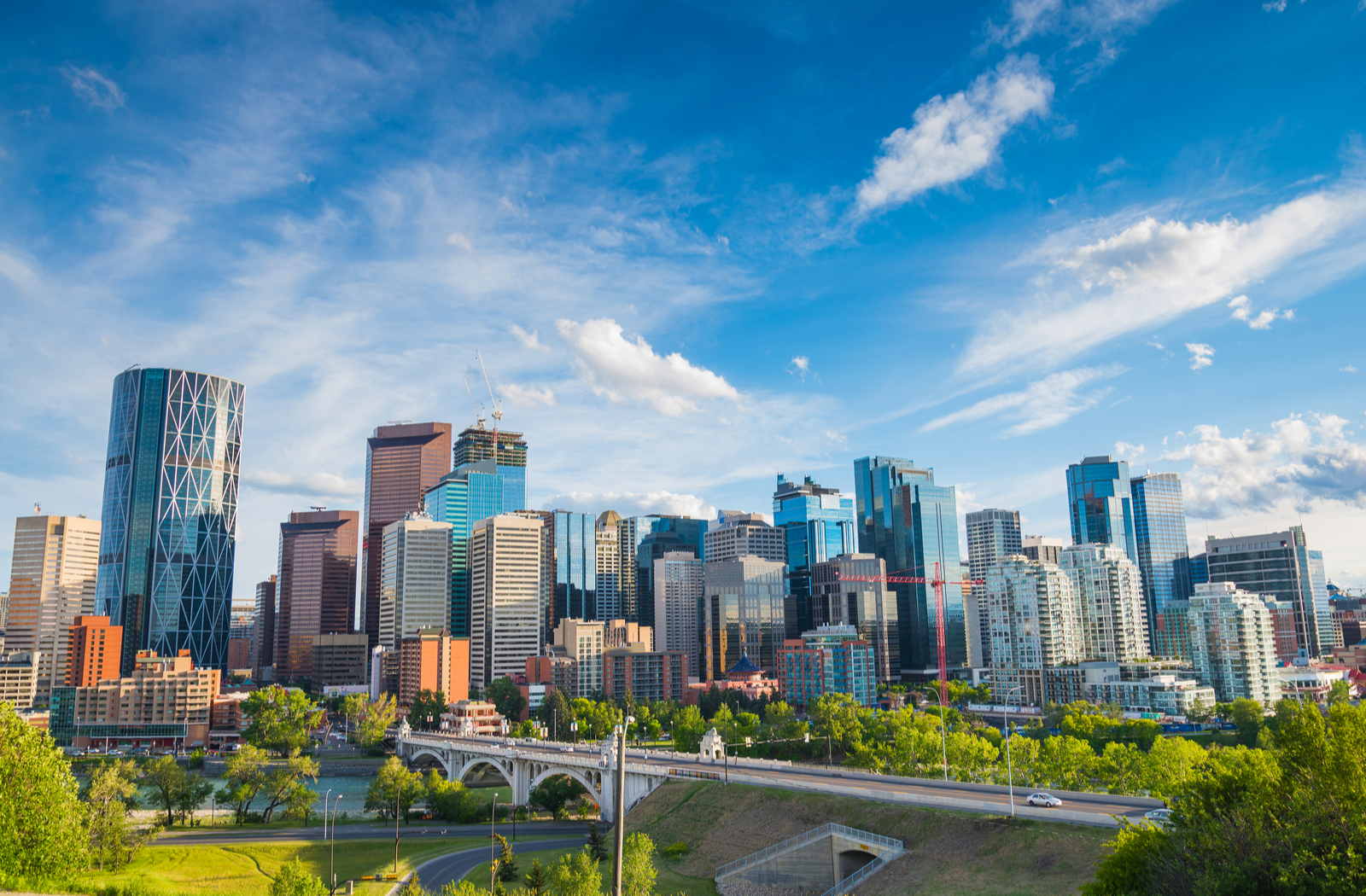 City in Alberta